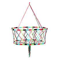 Подвеснаядетскаяколыбельнаягамакдляребенка Крытая корзина Swing На открытом воздухе - 1TopShop, фото 2