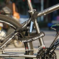 WHEEL UP 0.8m Анти Theft Bike Замок Анти-гидравлическая цепь Замок Магнитный велосипед Замок Аксессуары для велосипедов - 1TopShop, фото 3