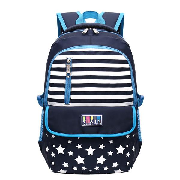 7-15 лет подросток случайные студенты Nylon рюкзак большой емкости прочный Школа Сумка - 1TopShop