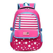 7-15 лет подросток случайные студенты Nylon рюкзак большой емкости прочный Школа Сумка - 1TopShop, фото 2