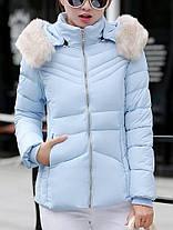 Женское Повседневный сплошной цвет с капюшоном Тонкий Пальто с длинными рукавами осень зима пуховики - 1TopShop, фото 3