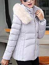 Женское Повседневный сплошной цвет с капюшоном Тонкий Пальто с длинными рукавами осень зима пуховики - 1TopShop, фото 2