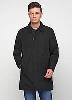 Полупальто мужское GEOX цвет черный размер 52 арт M6420JT0351F9000