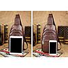 МужчиныВодонепроницаемыМаслоВосковойсундукСумка Мода для отдыха на плече Сумка - 1TopShop, фото 6