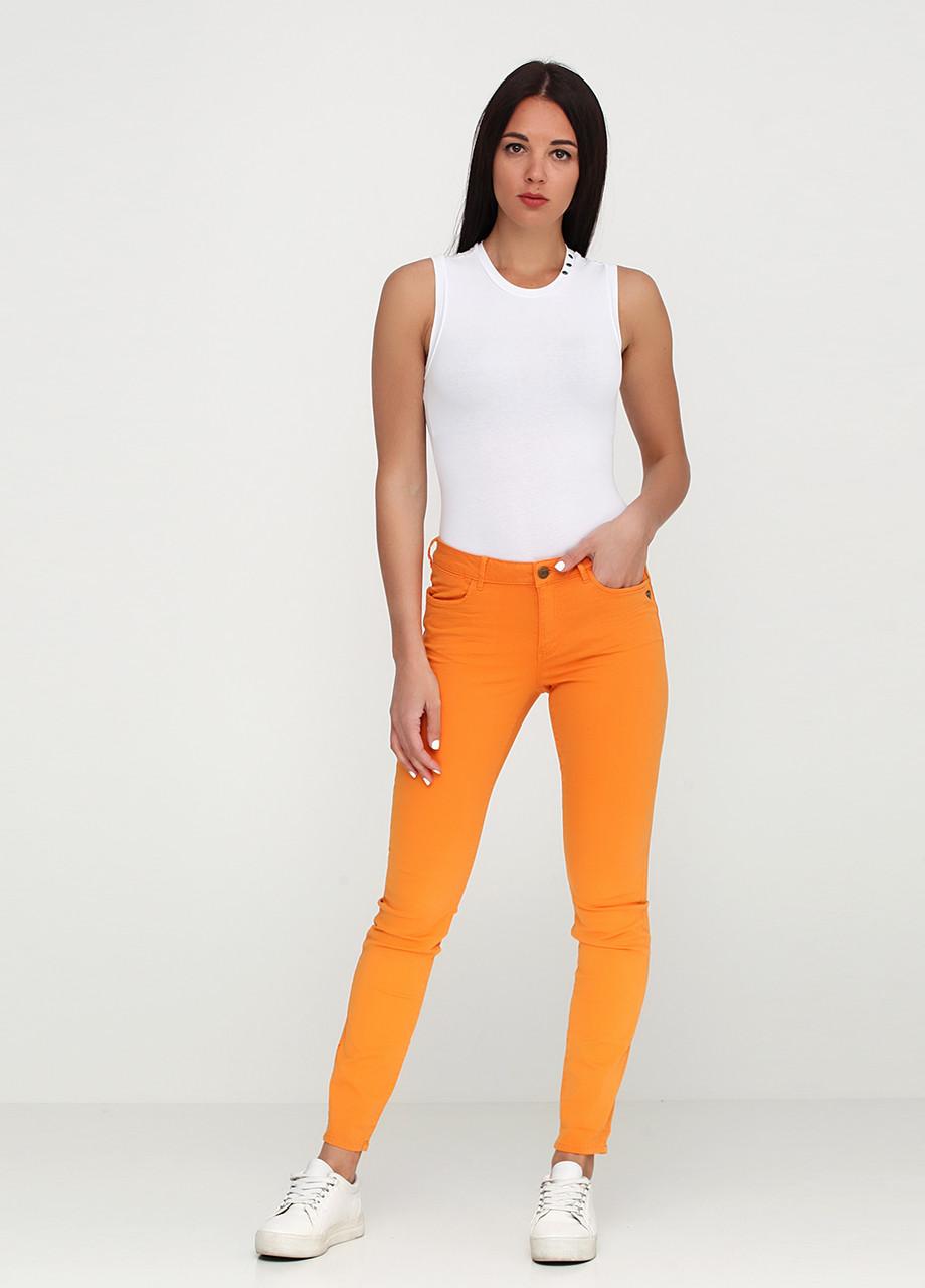 Джинсы женские Maison Scotch цвет оранжевый размер 27/32 арт 101989-16-FWLМ-С80