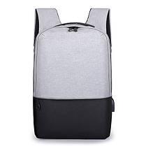 IPRee14inchНоутбукСумкаUSB-зарядкаAnti-Theft Backpack Travel Оксфордская ткань Водонепроницаемы Пакет - 1TopShop, фото 2
