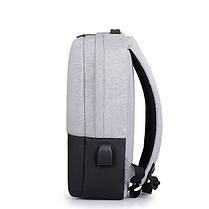 IPRee14inchНоутбукСумкаUSB-зарядкаAnti-Theft Backpack Travel Оксфордская ткань Водонепроницаемы Пакет - 1TopShop, фото 3