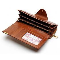Женское Натуральная Кожа Длинный лоскут для кошелька Elgant Случайный Шаблон Кошелек Держатель карты - 1TopShop, фото 3