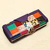 Женское Натуральная Кожа Длинный лоскут для кошелька Elgant Случайный Шаблон Кошелек Держатель карты - 1TopShop, фото 6