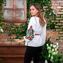 Женская вышиванка с цветами Лелитка, фото 2