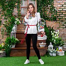 Женская вышиванка с цветами Лелитка, фото 3