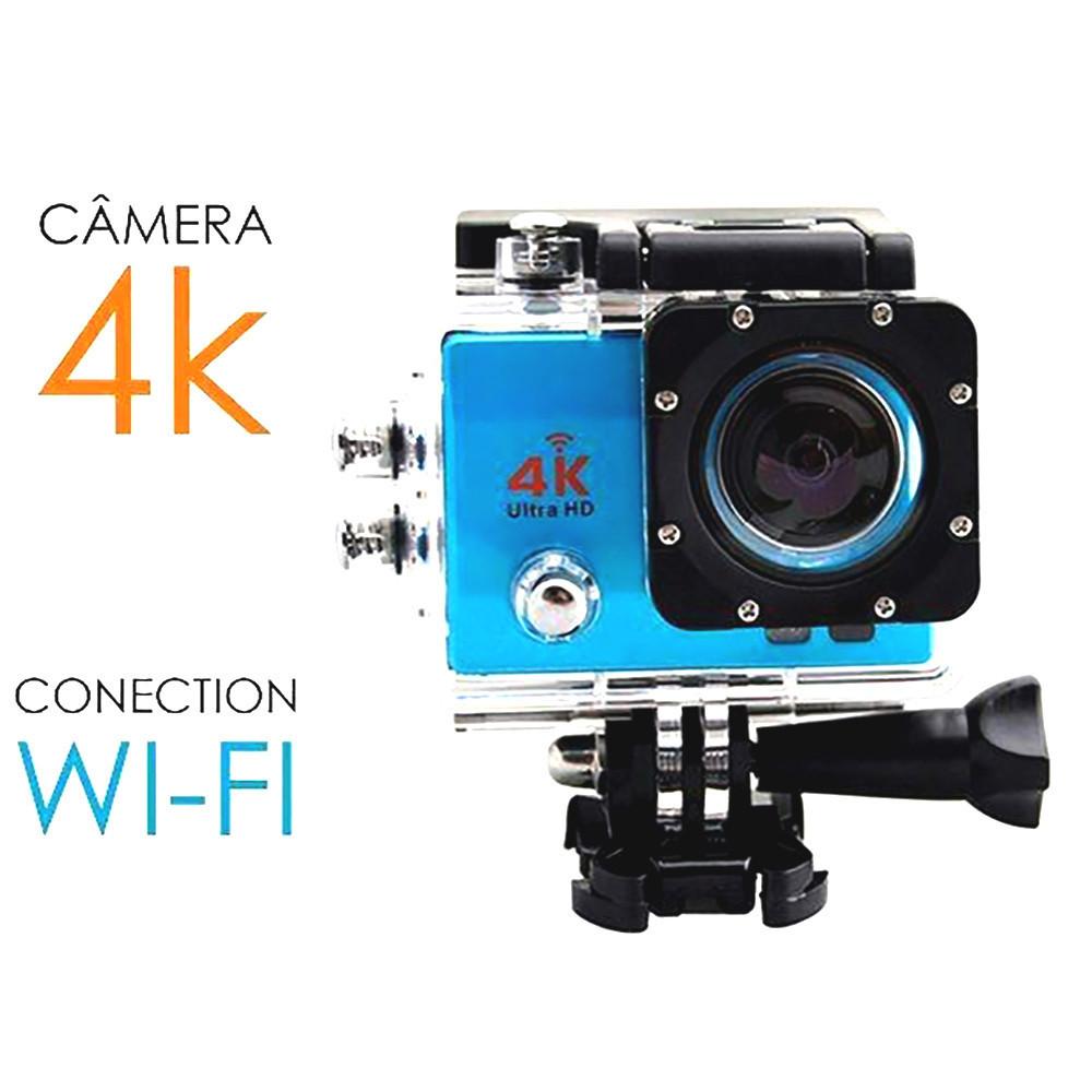 Экшн камера с пультом DVR SPORT S3R remote Wi Fi waterprof 4K D1021