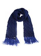 Шарф унисекс DIESEL цвет темно-синий размер Универсальный арт 00STPJ0SAJR88Т