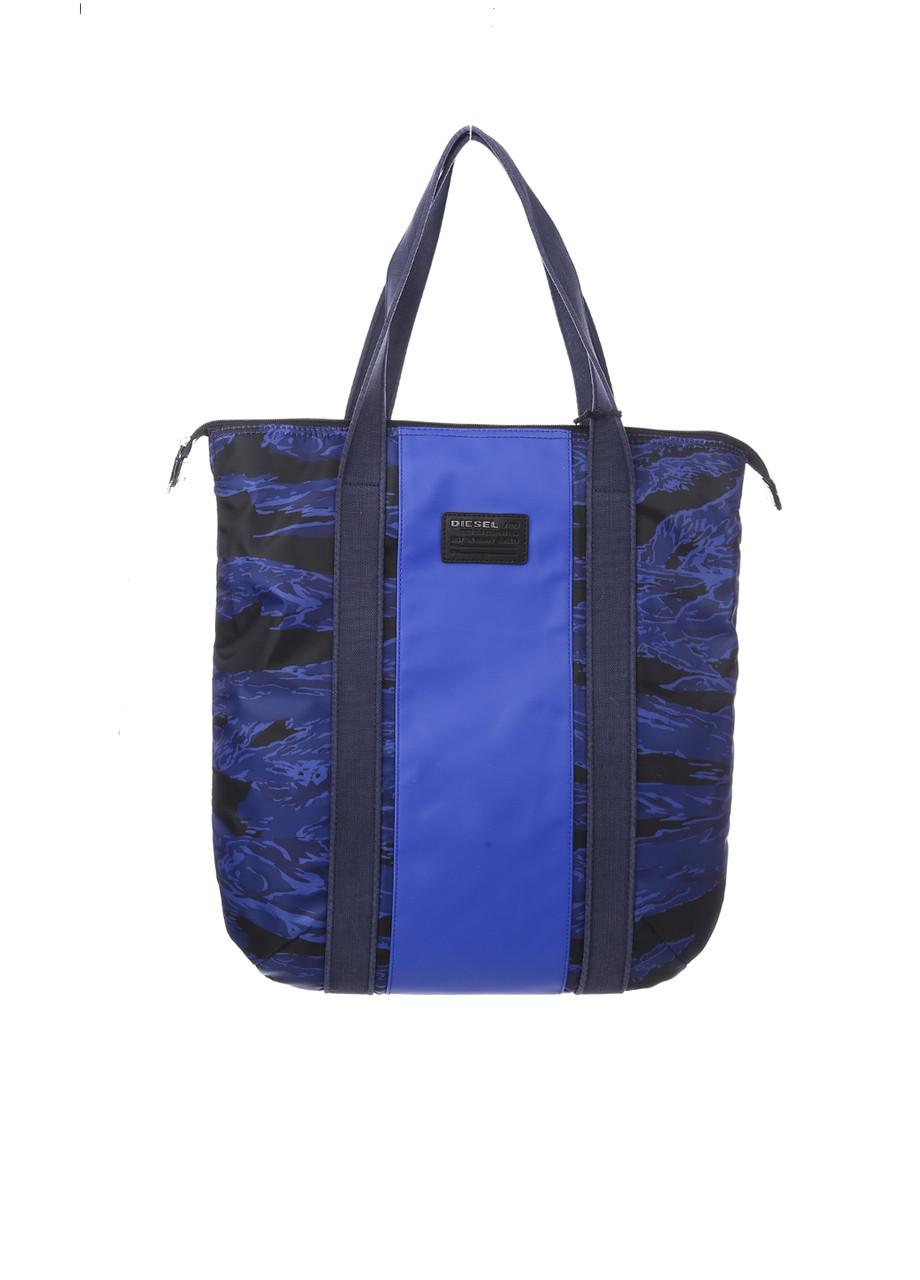 Сумка унисекс DIESEL цвет сине-черный размер - арт X04222P1104H6094