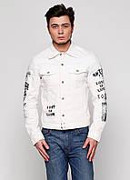 Куртка мужская DIESEL цвет молочный размер S арт 00SJMI