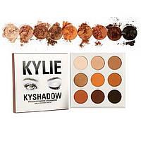 Тени для глаз Kylie палетка из 9 цветов D1021