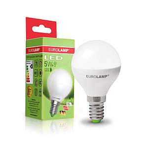 """EUROLAMP LED Лампа ЕКО серия """"D"""" G45 5W E14 3000K/4000K"""