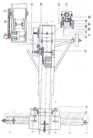 Шкив эл/ двиг  привода триммера   ЗП 05.101, фото 2