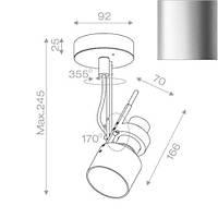 Спот светильник Aquaform 10011-01