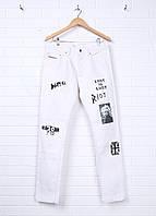 Джинсы мужские DIESEL цвет белый размер 30 арт 00SJ79