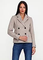 Полупальто женское Maison Scotch цвет серо-бежевый размер 4 арт 101902-16-FWLМ-A10