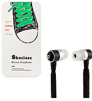 Наушники HF MP3 Shoelace