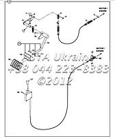 Стороны дроссельной заслонки и педали акселератора Д2-1-1