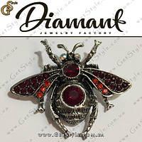 """Брошка Хрустальный жук - """"Crystal Beetle"""" + подарочная упаковка, фото 1"""