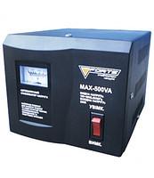 Стабилизатор напряжения FORTE MAX-500VA (аналог дисплей)