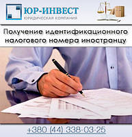 Получение идентификационного налогового номера иностранцу