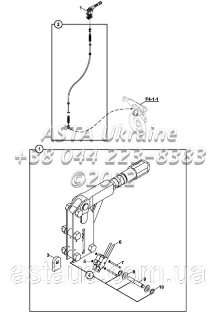 Стояночный тормоз Д2-2-1