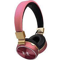 Bluetooth Наушники V685 (Under Amour) Розовые D1021