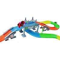 Детская гибкая игрушечная дорога Magic Tracks 360 деталей D1021