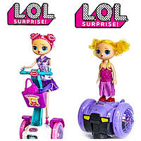 Кукла ЛоЛ на гироскутере, фото 1