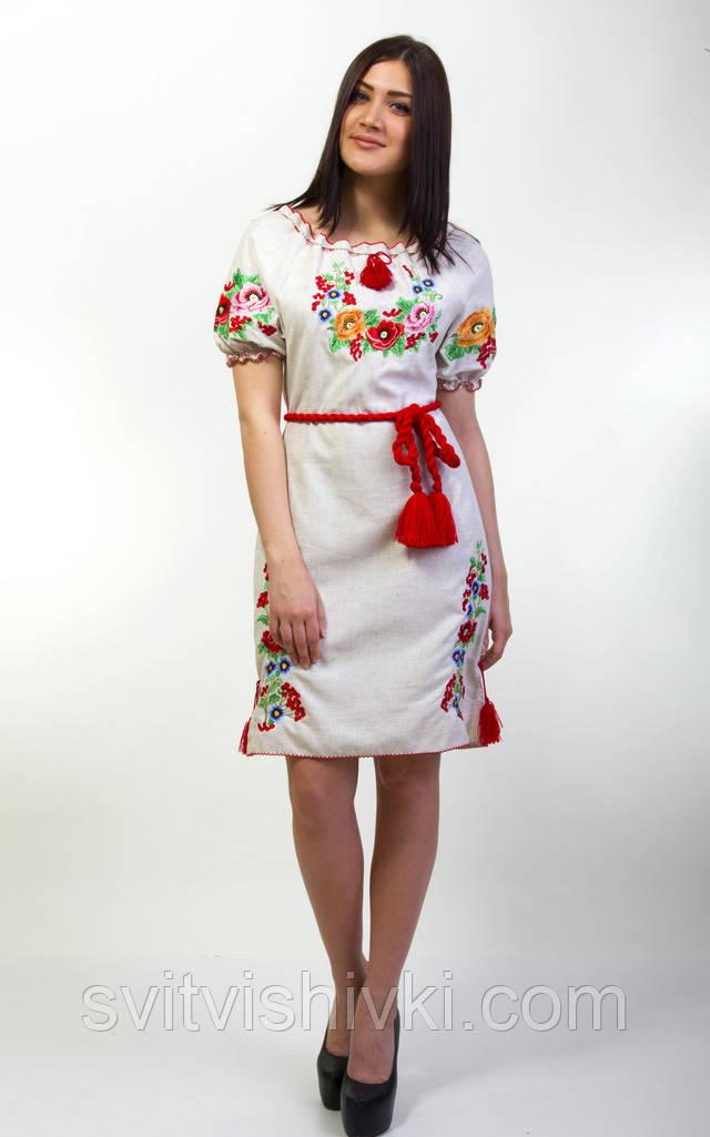 Женские платья вышиванки