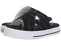 Сандали/Вьетнамки Converse One Star Sandal - Slip Black/Egret/White