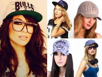 Женские и подростковые кепки/реперки/шапки/панамы