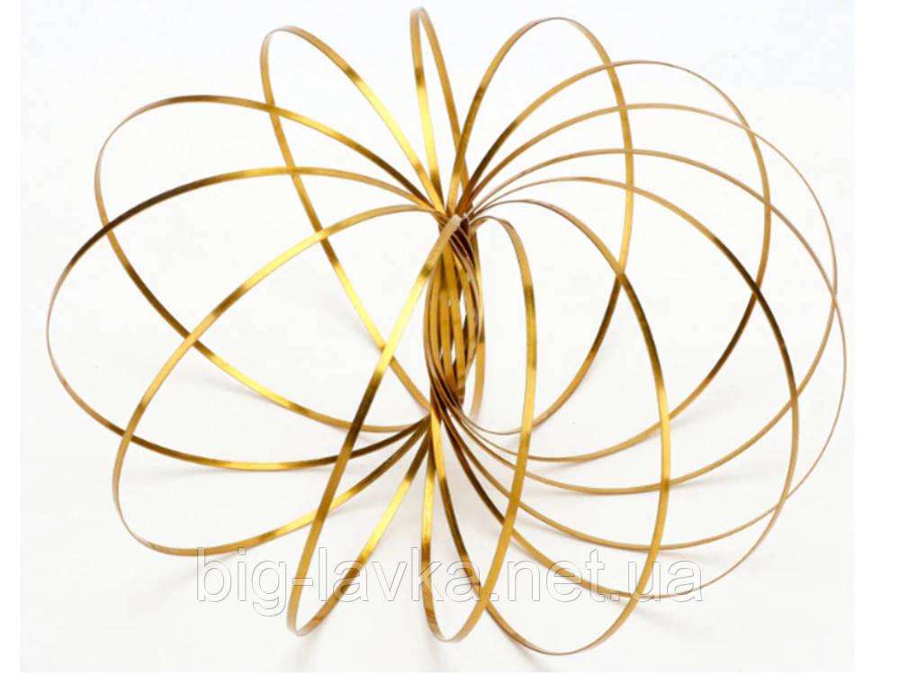 Кинетическое кольцо для фокусов Toroflux  Золотой
