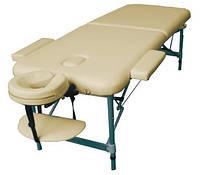 BOY двухсекционный алюминиевый складной массажный стол