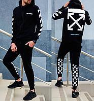 Спортивный костюм Off-White (Premium-class) черный