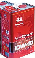 Моторное масло Wolver 10w40 Super Dynamic 4 л