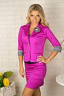 Стильный женский костюм пиджак и юбка 2004 Разные цвета, фото 1