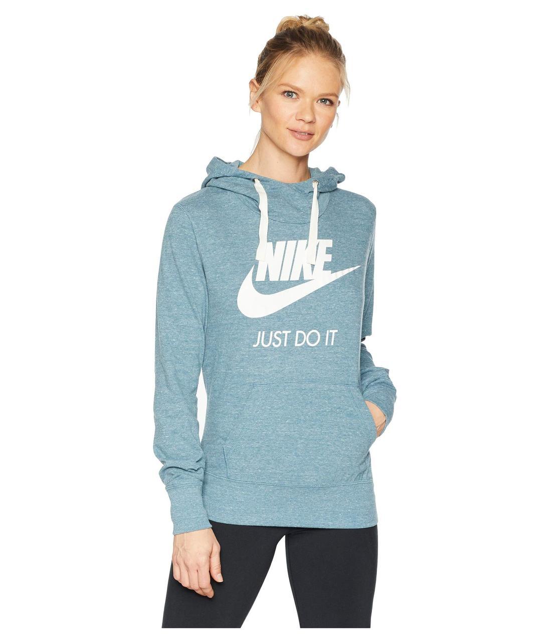 31789e457557 Толстовка Nike Sportswear Gym Vintage HBR Hoodie Blue - Оригинал - Bigl.ua