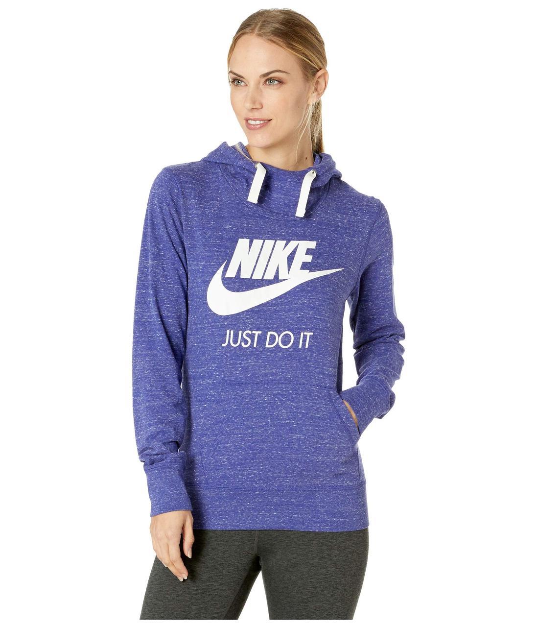 3110dff9293e Толстовка Nike Sportswear Gym Vintage HBR Hoodie Purple - Оригинал - Bigl.ua