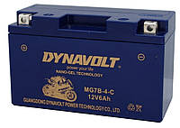 Гелевый мото аккумулятор DYNAVOLT MG7В-4-C