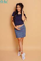 Юбка для беременных To be 3159 джинс