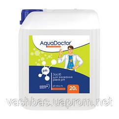 Рідкий засіб для зниження pH Minus HL (Соляна 14%) 20 л. Хімія для басейну AquaDoctor