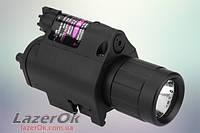 Лазерный прицел М6Х с фонарем Q5, фото 1
