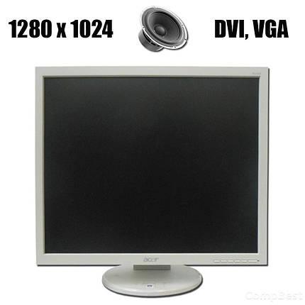 """Acer B193 / 19"""" / 1280*1024 / DVI, VGA / встроенные колонки, фото 2"""