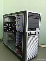 Chieftec MidiTower / 2x Intel Xeon E5645 ( 6(12) ядер по 2.4-2.67GHz) / 32GB DDR3 / 1000 GB HDD / БП Chieftech 450W / DVD-ROM, фото 2
